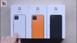 جعبه گشایی تمام رنگ های Google Pixel 4