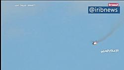 لحظه پودر شدن بالگرد آپاچی ارتش عربستان