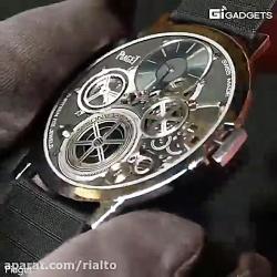 ساعتی که از سکه نازکتر است!!!