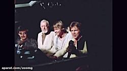 پشت صحنه فیلم جنگ ستارگان