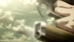 انیمیشن حمله به تایتان attack on titanدوبله فارسی فصل3قسمت2