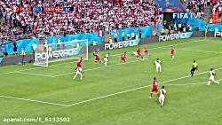 گُل های مسابقات جام جهانی فوتبال ۲۰۱۸ - پرو و دانمارک