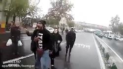 برخورد خشن پلیس با مردم