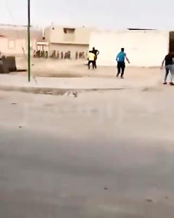 ویدیو تیر خوردن جوان ماهشهری در درگیری نیروی انتظامی و مردم