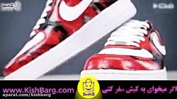 روش نقاشی-رنگ آمیزی کفش کودکان با طرح سفارشی