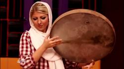 دف نوازی عسل ملک زاده؛ ملکه ی دَفِ ایرانی