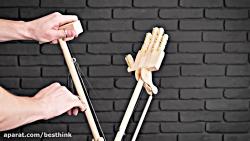 ساختن بازوی رباتیک