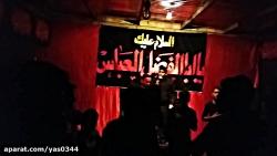 کربلایی مهدی کمشکی۱۴آذرماه مراسم هفتگی حسینیه سیدالشهدا علیه السلام بروات بم