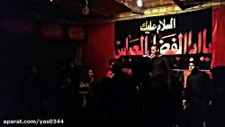 کربلایی معیاد یوسفی۱۴آذرماه مراسم هفتگی حسینیه سیدالشهدا علیه السلام بروات بم