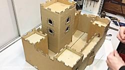 دست سازه 30 ( ساختن قلعه )