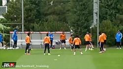 تمرین تیم رئال مادرید ا...