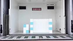تست ایمنی دیوارهای پیش ساخته در زلزله