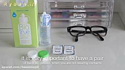 آموزش استفاده از لنز چشمی