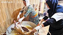فودرنجر در ايران - تست غذاي ايراني قسمت چهارم - مازندران