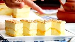 تهیه چیز کیک ژاپنی در م...