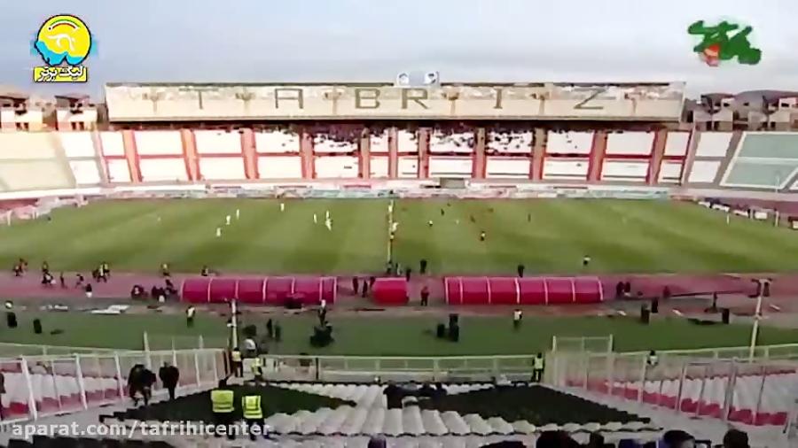 خلاصه و نتیجه بازی تراکتورسازی و شاهین شهرداری بوشهر (لیگ برتر) 14 آذر 98