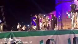 صحبت های جنجالی نوید محمدزاده در مورد عباس کیا رستمی در جشن خانه سینما.mp4