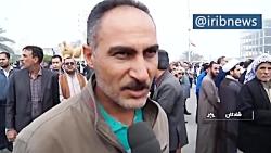 تشییع شهدای مدافع امنیت در شادگان