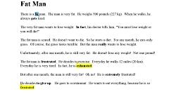 فصل دوم از انگلیسی آسان Effortless English,2) Flow English, Fat Man