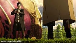 انیمیشن حمله به تایتان دوبله فارسی فصل3قسمت10