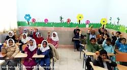 تشکر دانش آموزان مدرسه امام علی (ع)