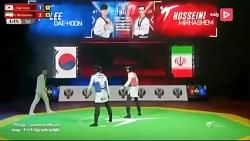 باخت ناباورانه میرهاشم مقابل تکواندوکار کرهای در ثانیه پایانی