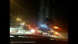 بستن ورودی های اندرزگو تهران توسط پلیس