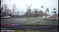 رانندگی جنون آمیز با بیشترین سرعت!