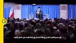 پیام واضح آیت الله خامنه ای به داعش و آمریکا در فیلم سایت سردار قاسم سلیمانی