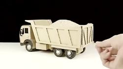 آموزش ساخت کامیون کنترلی با قابلیت ریختن بار