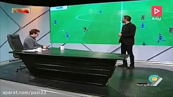 آنالیز بازی استقلال و پرسپولیس در لیگ برتر
