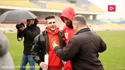 دیدار بازیکنان پرسپولیس با هواداران خاص باشگاه