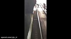 خودکشی تلخ دو دختر جوان در ایستگاه مترو شهرری