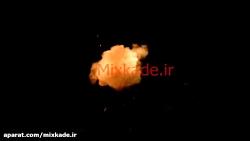 مجموعه پنج فوتیج آتش- کد ۱۱۱۲۰۵-۱۱۱۲۰۹