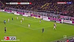 خلاصه بازی دورتموند 5-0 دوسلدورف