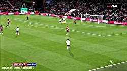 خلاصه بازی بورنموث 0-3 لیورپول