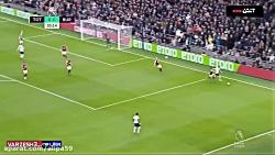 خلاصه بازی تاتنهام 5-0 برنلی
