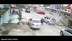 دزد بدشانس از صاحب خودرو کمک خواست
