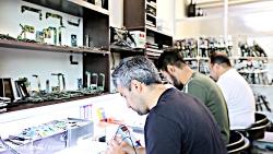 کلاس آموزش تعمیر موبایل سخت افزار