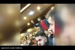 پرسش های آتشین دانشجوی علامه از محمدباقر قالیباف در روز دانشجو