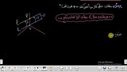 هندسه محدّب: جلسه 6- خط در ابعاد بالاو معادله آن