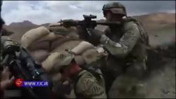 فیلمی واقعی از قدرت نظامی آمریکا هنگام درگیری با سه عضو طالبان