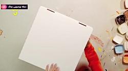 جعبه کاردستی - سطل دایناسور
