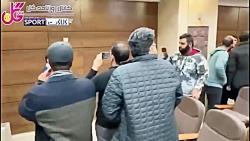 درگیری در کنفرانس خبری قلعه نویی