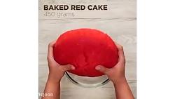 پاپ کیک هندوانه برای شب یلدا