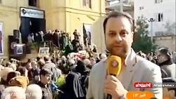 پیکر مناجات خوان سحرهای ماه مبارک رمضان به خاک سپرده شد