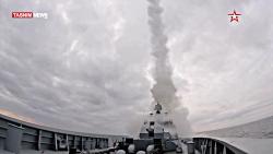 شلیک موشک کالیبر روسی
