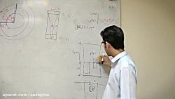 تایم لپس قسمتی از کلاس حضوری آزمون طراحی معماری آقای مهندس انسانیت