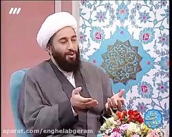 ️حجت الاسلام کاشانی در برنامه تلویزیونی سمت خدا