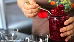 لذت آشپزی - طرز تهیه چای انار